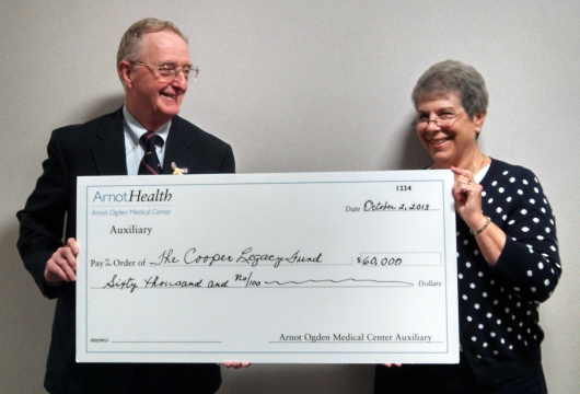 Arnot Auxiliary Donation Cooper Legacy Fund
